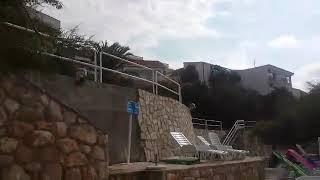 Неум Босния и Герцеговина август 2014 отель Посейдон