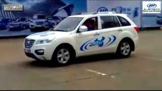 Тест драйв Lifan SUV X60 (Лифан Х60 СУВ) на закрытой площадке
