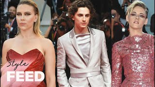Timothee Chalamet's Suit Is EVERYTHING at the Venice Film Fesitval 2019 | ET Style Feed