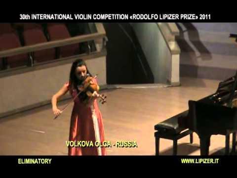 LIPIZER2011-VOLKOVA OLGA - ELIM.