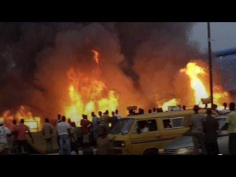 Oil pipeline incident kills 4 in Nigeria's economic hub Lagos