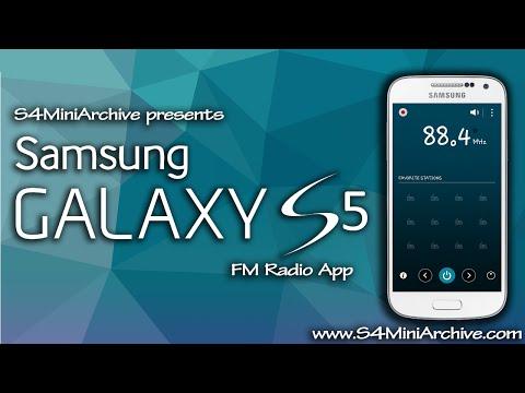 Galaxy S5 FM Radio for Galaxy S4 mini