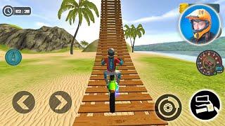 Фото Motocross Beach Bike Stunt Racing Game - #6 Motor Racer Game Android Gameplay