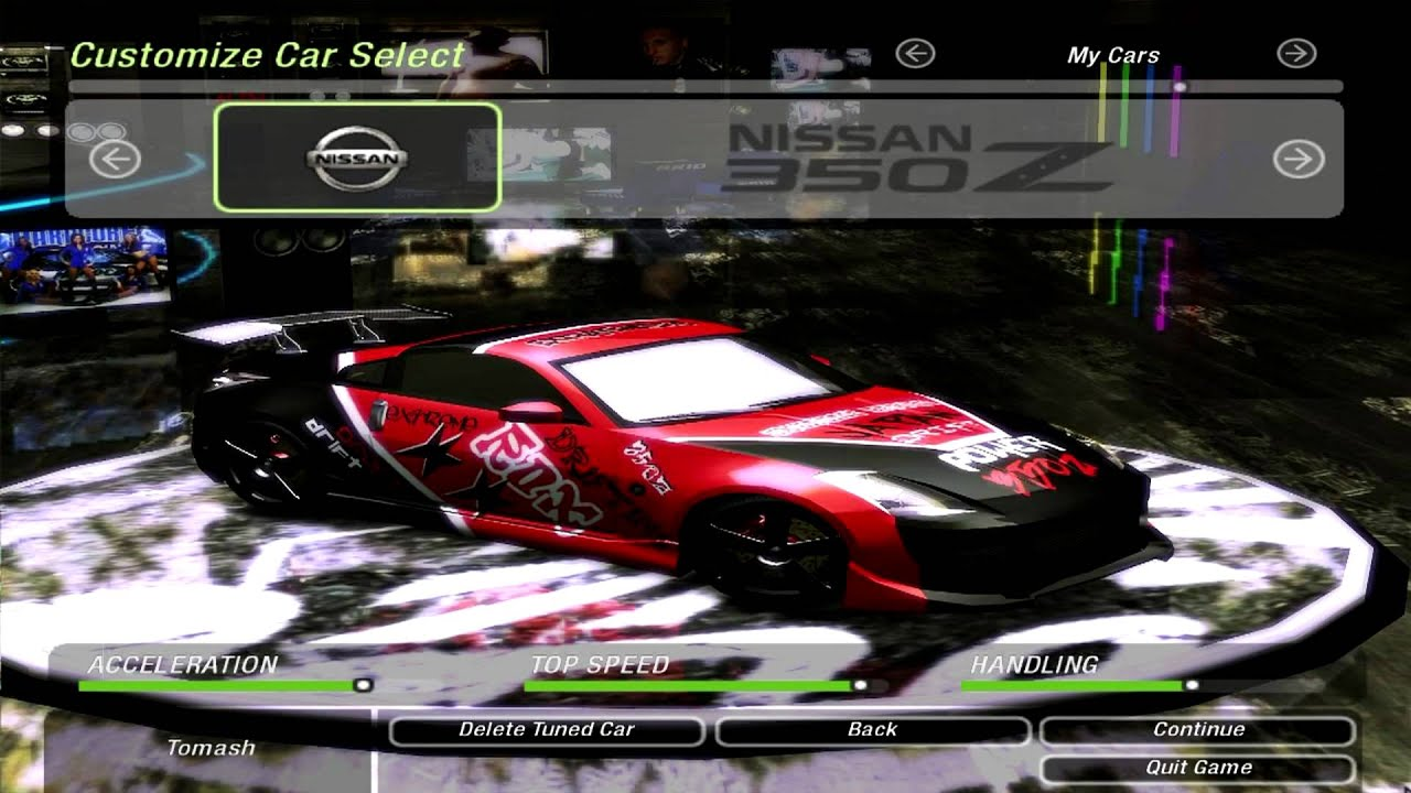 Need For Speed Underground  Custom Cars