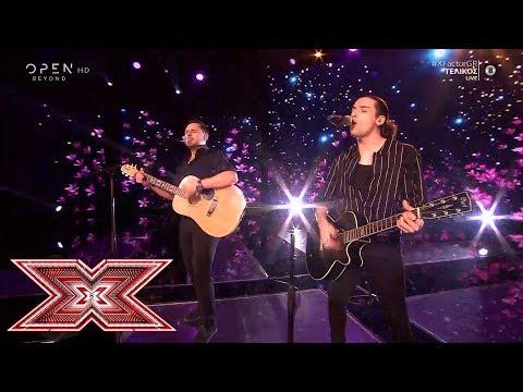 Tonight/Σήμερα από Γιάννη Γρόση και Δημήτρη Παπατσάκωνα | Live 10 τελικός | X Factor Greece 2019