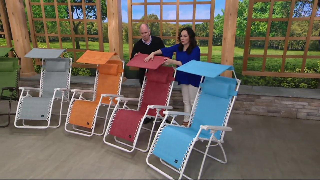 Bliss Hammocks Premium Gravity Free Reclining Chair With