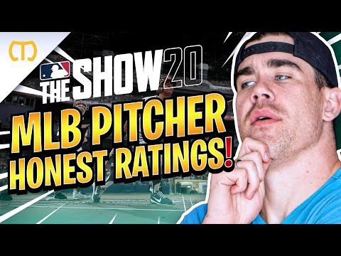 REAL MLB Pitcher Gives HONEST Ratings   MLB The Show 20