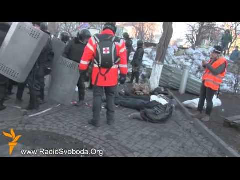 Kiyev qarşıdurmasından sonra meyidlər