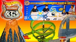 Hot Wheels Ultimate Track? The Hot Wheels Highway 35 World Race Ultimate Track Set
