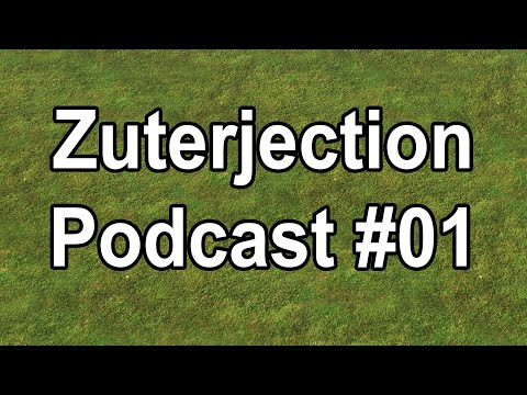 The Zuterjection Podcast #1: Saturday Smackdown