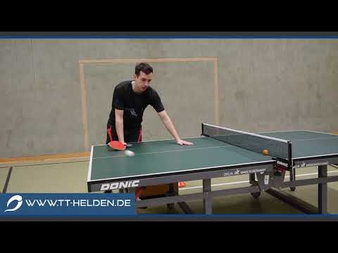 Ghost Serve Aufschlag Tutorial  | Tischtennis Helden