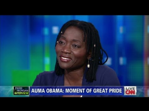 Auma Obama on her famous brother