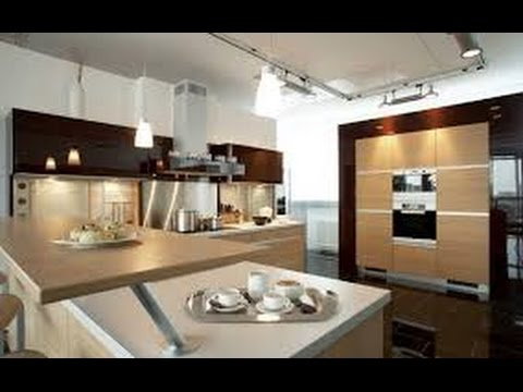 modern kitchen design 2017 - YouTube