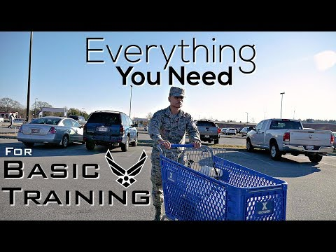 Air Force Basic Training Guide | WE'RE GOING TO TEXAS