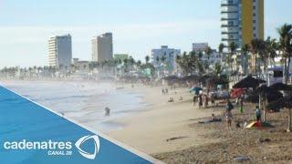 Afectado Mazatlán por el fenómeno mar de fondo