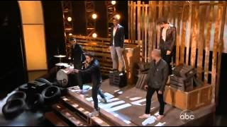 The WANTED Chasing The Sun/Glad You Came Live At The BillBoard Awards