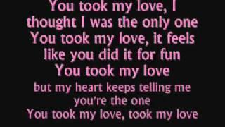 pitbull you took my love  lyrics