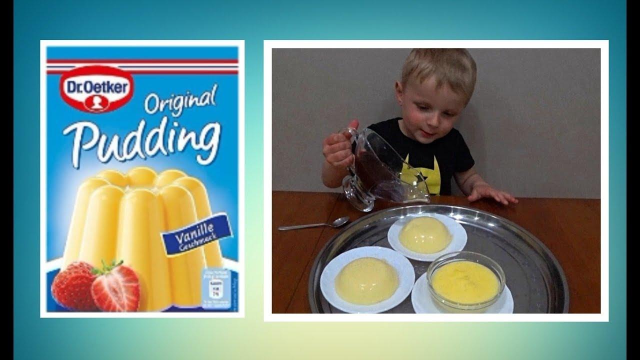 ПУДИНГ ИЗ ПАКЕТИКА Dr Oetker ванильный Vanilla pudding #пудингизпакетика #пудингизпакета #droetker