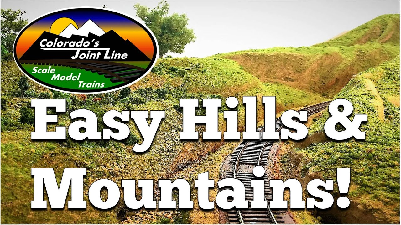 Fall In Colorado Wallpaper How To Make Easy Hills Amp Mountains For Model Train Layouts