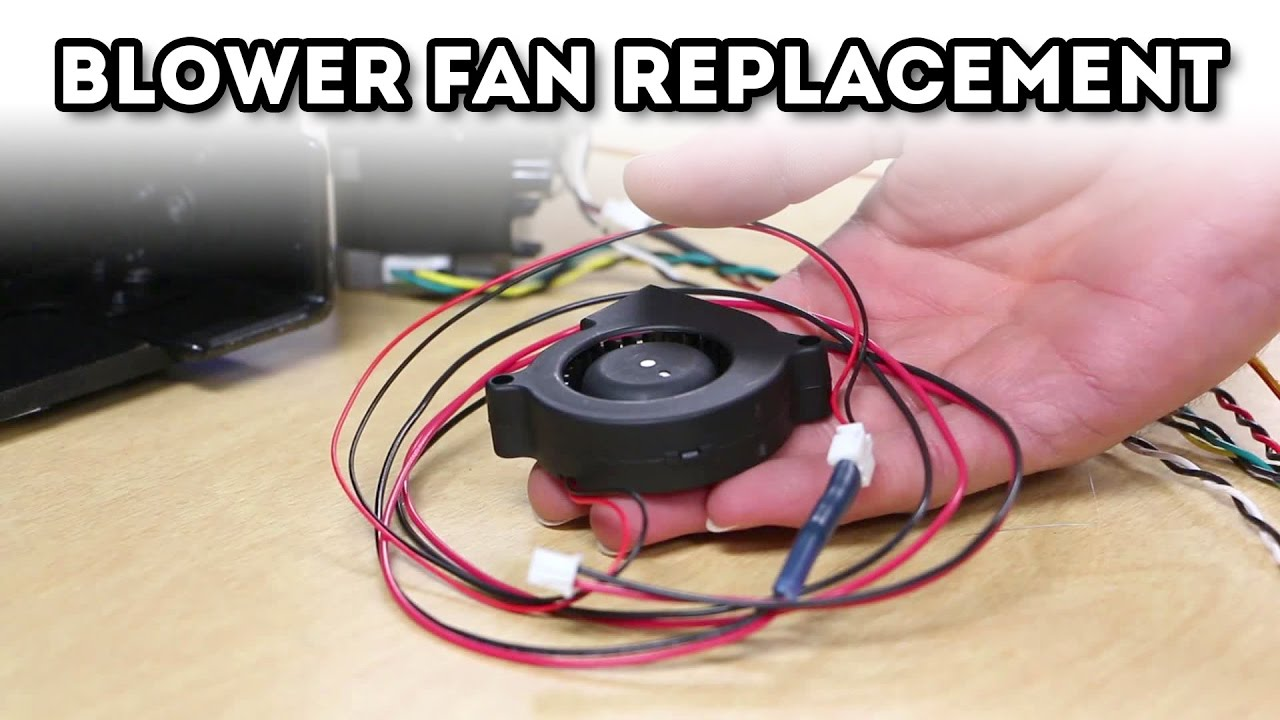 Replicator 2 Blower Fan Replacement (with quick connect)