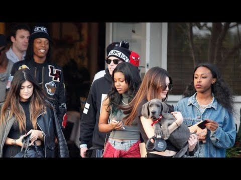 Kendall Jenner And Sister Kylie Hit Up Fred Segal With Lil Twist [2013]