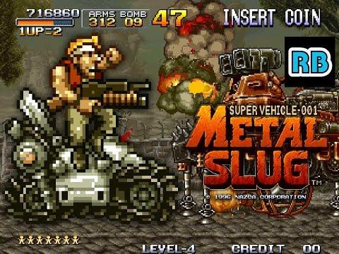 1996 [60fps] Metal Slug ALL