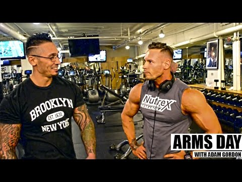 Training Arms with Adam HD