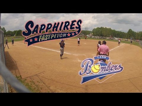 '01 Sapphires vs. Ohio Lady Bombers '01 5/30/15