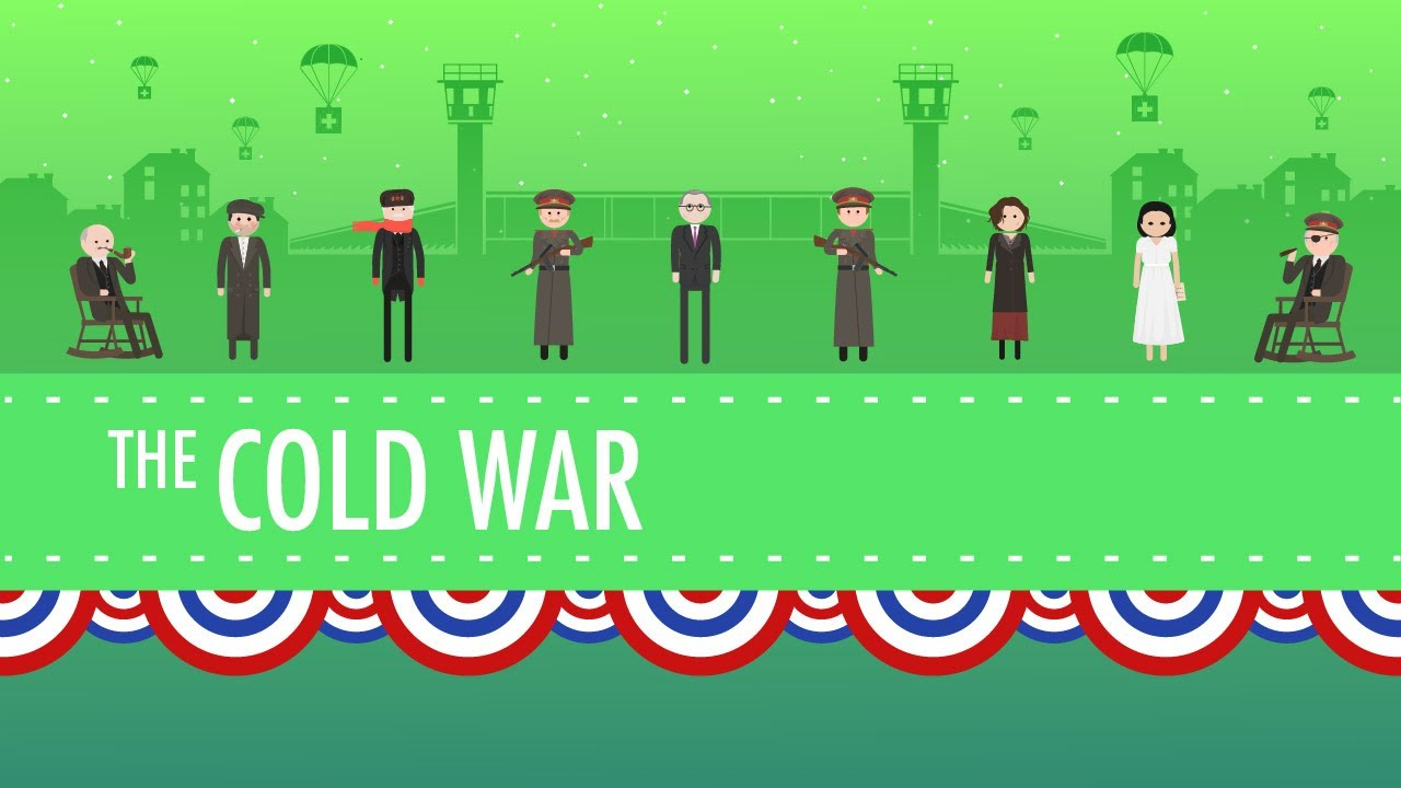 small resolution of The Cold War: Crash Course US History #37 - YouTube