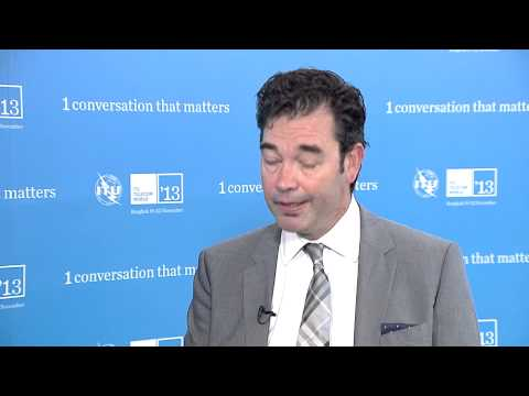 John Galvin, VP, Intel Education - Interview ITU Telecom World 2013