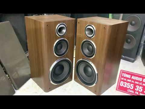Loa Onkyo D77fx thiết kế đẹp sang trọng,thùng nặng,bass đầm chắc uy lực,chất âm ngất ngay ng nghe