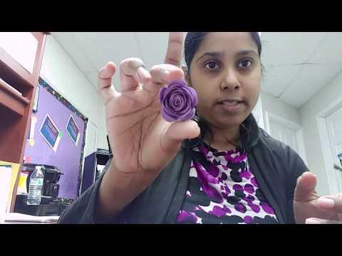 How to make a 3d paper flower using cricut tweezers
