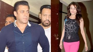 Salman Khan Spotted With Aishwarya Rai Bachchan