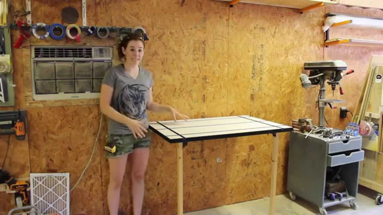 Create A Folding Rockler T Track Table April Wilkerson