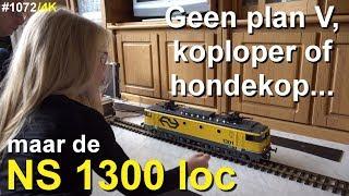 Nee, niet de KOPLOPER, of de PLAN V of HONDEKOP TREIN, Nee papa heeft een NS 1300 loc gekocht #1072