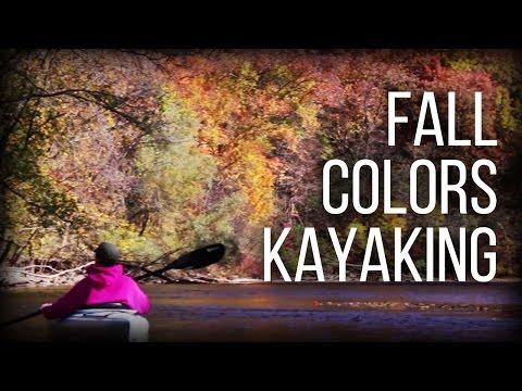 Fall Colors Kayaking - Huron River - Ann Arbor Michigan