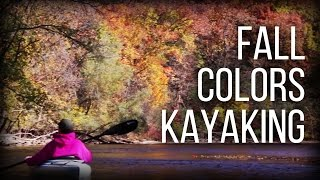 Fall Colors Kayaking - Huron River - Ann Arbor Michigan
