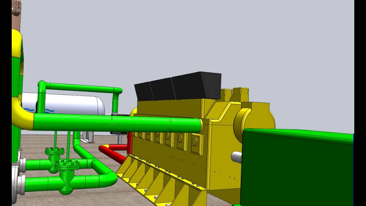 Cooling Unit Animation : Animation cooling system in diesel power plant youtube