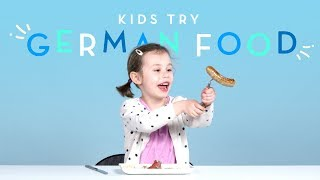 Kids Try German Food | Kids Try | HiHo Kids