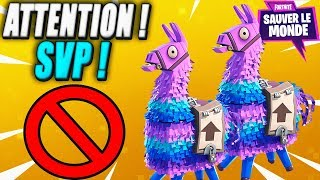 Be Vigilant - Opening 10 Lama to People! Fortnite Saving the World