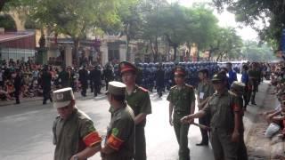 Diễu Binh mừng ngày Quốc Khánh Việt Nam 2/9/2015 phần 1