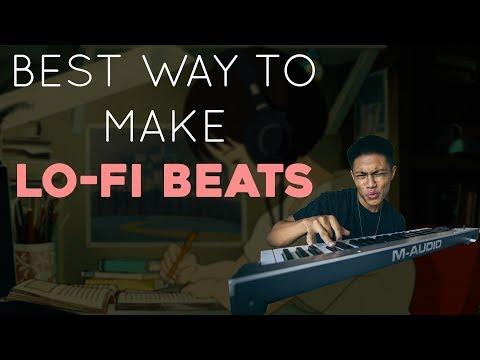 BEST way to make a LO-FI beat