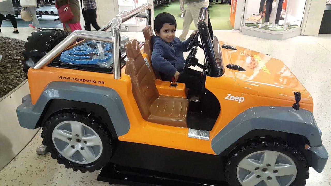 Jeep 4x4 Kids Toy Ride For Safari Dessert
