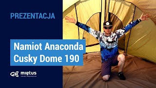 Namiot Anaconda Cusky Dome 190 video