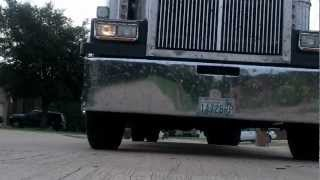 2007 WESTERN STAR: 550 CATERPILLAR ENGINE WALK AROUND AND RIDE ALONG WITH MY BUDDY RYAN SCHAUB