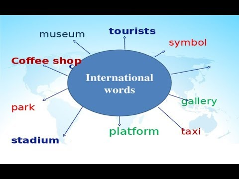 500 International words - Learn Russian