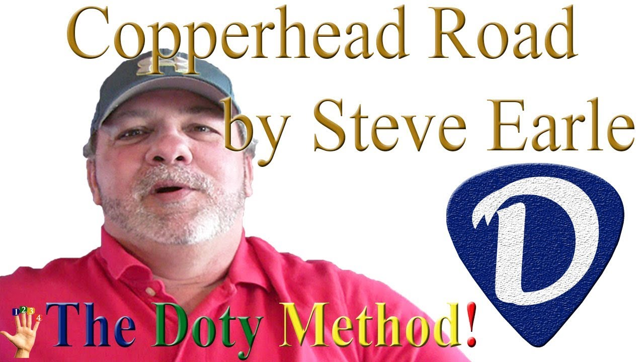 Copperhead Road Steve Earle Two Chords Easy Beginner Guitar Lesson