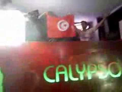 Gareth Emery - Concrete Angel ( with the Tunisian flag ) @ca