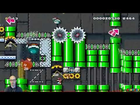 Beating All Super Warp World Special World Levels