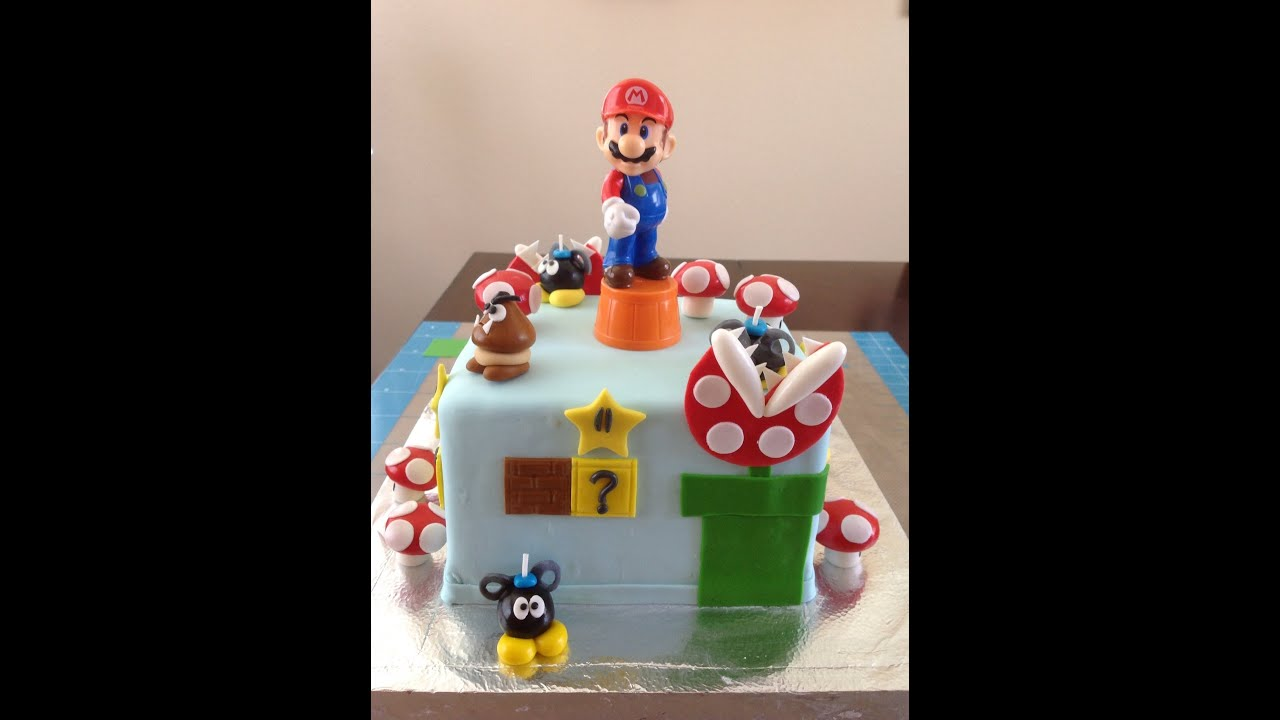 Super Mario bros cake YouTube